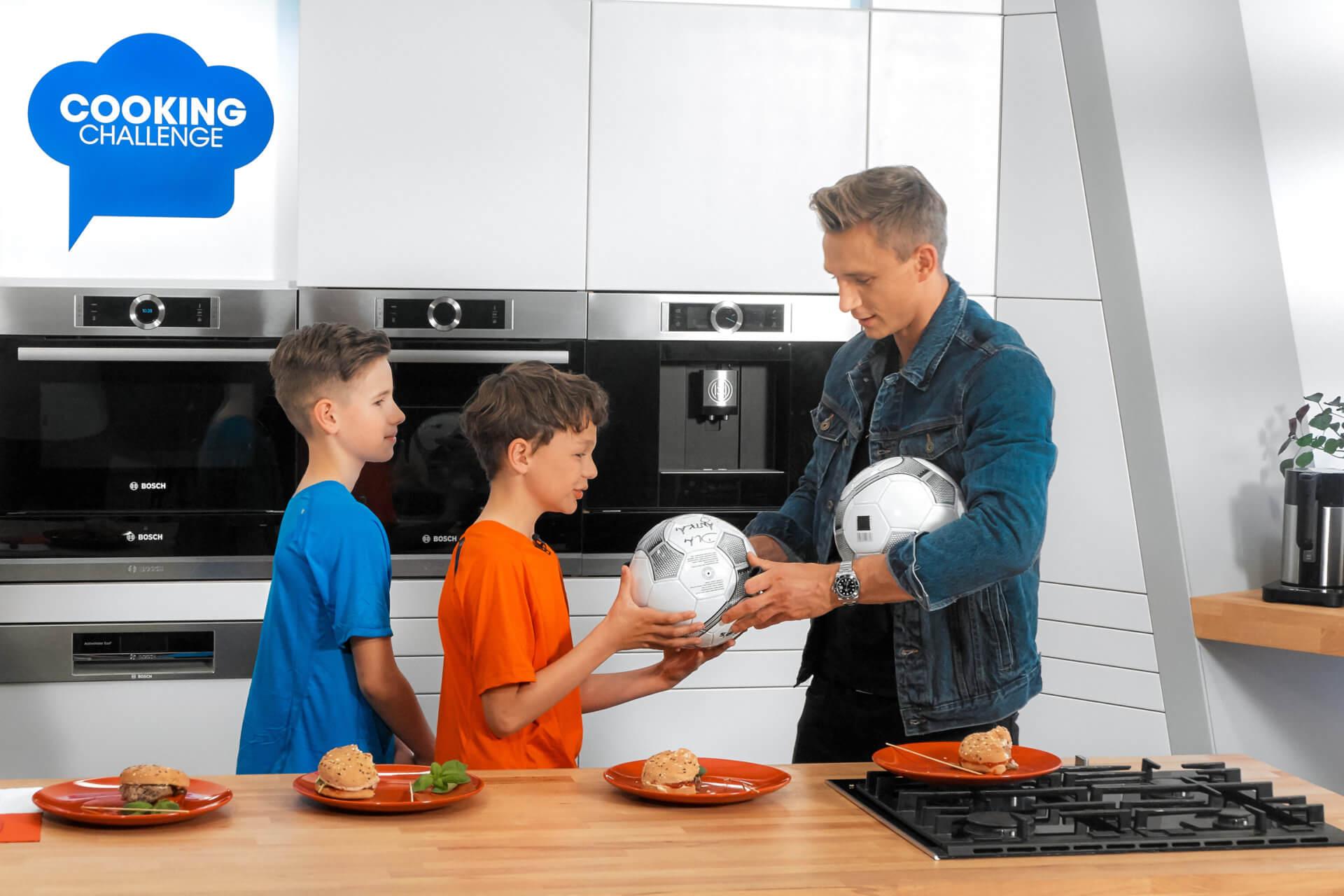 Jakub Rzeźniczak podjął wyzwanie w Cooking Challenge